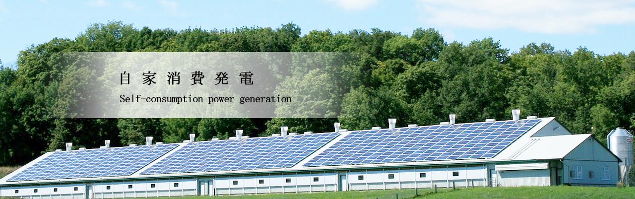 自家消費発電