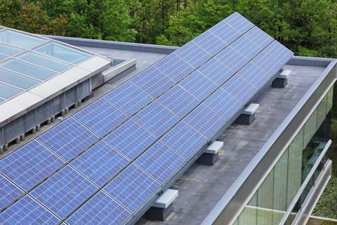 屋根設置太陽光発電2