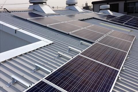 屋根設置太陽光発電3