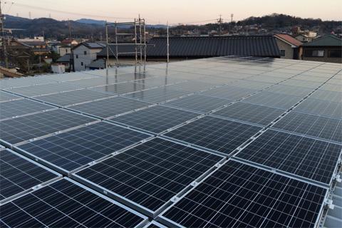 太陽光発電施工実績08
