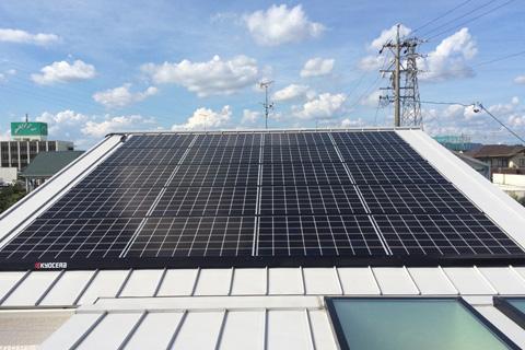太陽光発電施工実績12