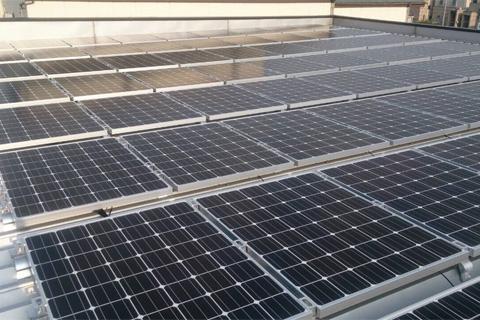 太陽光発電施工実績15